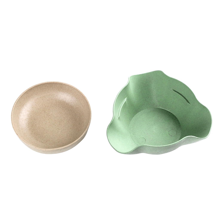 Happy Hours Blue Pistachio Bowl Double Dish Nut Bowl with Pistachios Shell Storage