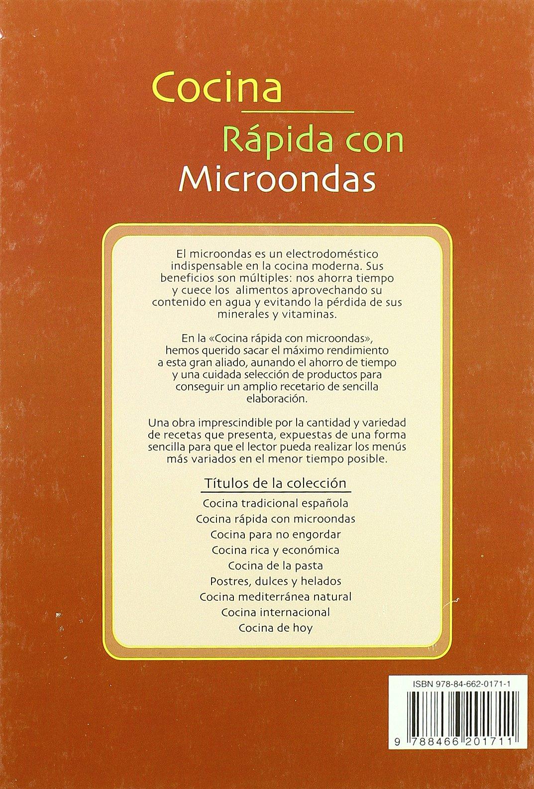 Cocina Rápida con Microondas (La Mejor Gastronomía): Amazon.es: Gloria Sanjuan: Libros