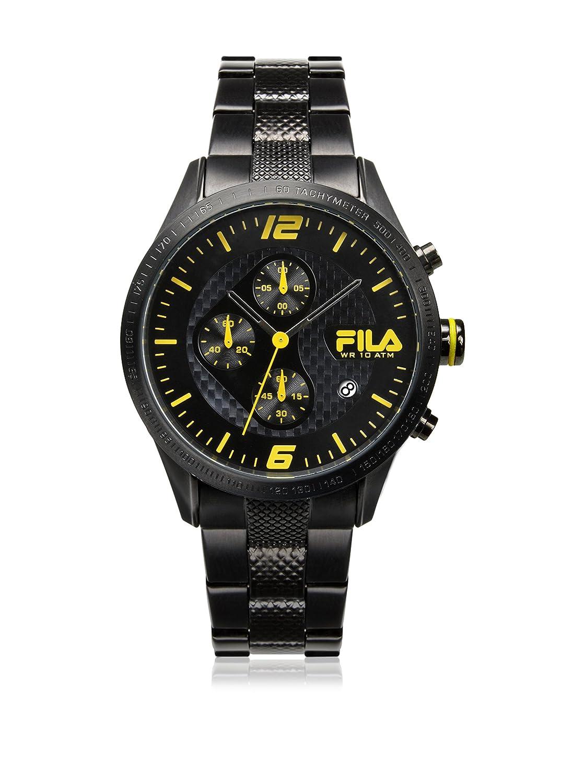 Fila Herren Uhr Chronograph Edelstahl FA38-001-004