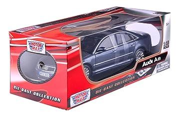 Richmond Toys 1:18 Audi A8 Die Cast Collectors Model Car (Silver)