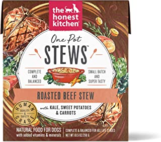 product image for Honest Kitchen Human Grade Wet Dog Food – One Pot Stews, Case of 6
