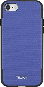 TUMI Coated Canvas Co-Mold Case for iPhone 7 - Blue Coated Canvas