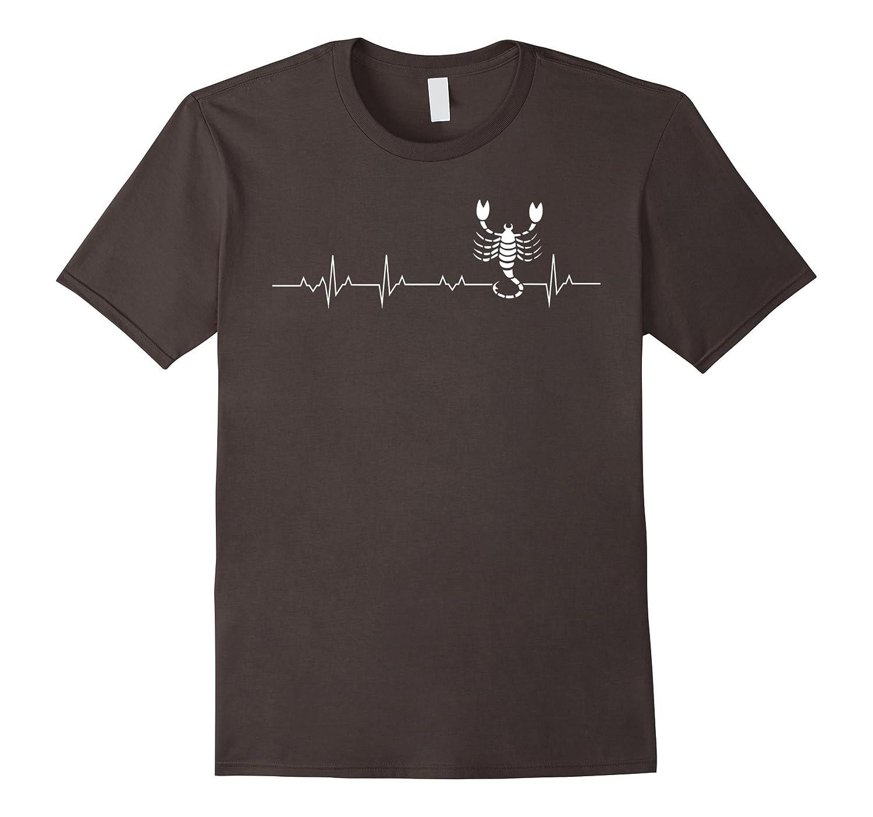 Scorpio tshirt, i love Scorpio heart beat-Teevkd