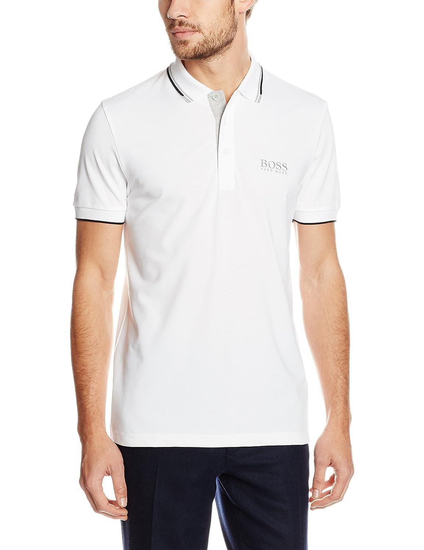 Blanc (blanc 100) XL BOSS Paddy Pro, Polo Homme