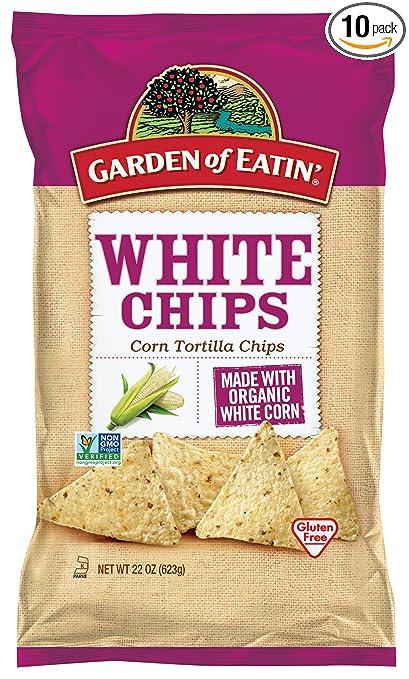 Amazoncom Garden of Eatin White Corn Tortilla Chips 22 Ounce