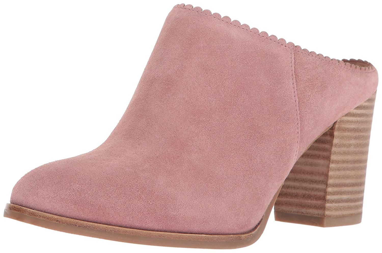 Via Spiga Women's Sophia Backless Bootie Ankle Boot B01NBW3D97 8.5 B(M) US|Dusty Rose Suede