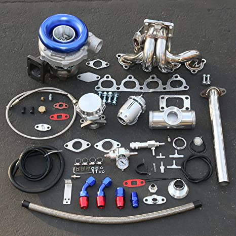 Honda D-Series Alto Rendimiento 13pcs t04e Turbo Upgrade Kit de instalación