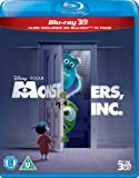 Monsters, Inc. (Blu-ray 3D + Blu-ray) [Import]