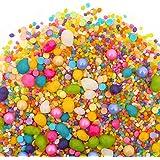 Candy Sprinkles | Unicorn Candyfetti | 8oz Jar | Rainbow Fruity | MADE IN THE USA! | Edible Confetti (8oz Jar)