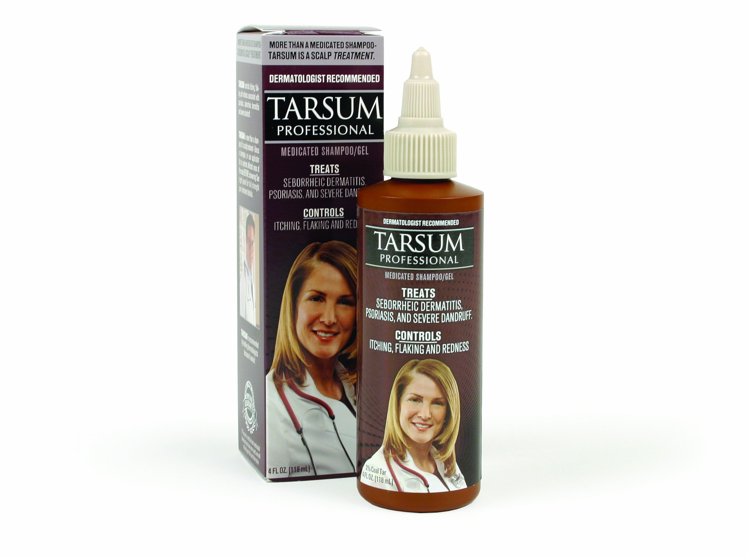 Tarsum Professional Medicated Shampoo/gel, 4-Ounce (Pack of 2)