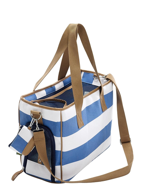 HUNTER Ruegen Carrier with Poop Bag Case, 40 x 19 x 30 cm, Small, bluee White