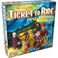 Ticket to Ride First Journey Board Game | Board Game for Kids | Family Board Game | Train Game | Ages 6+ | For 2 to 4 players