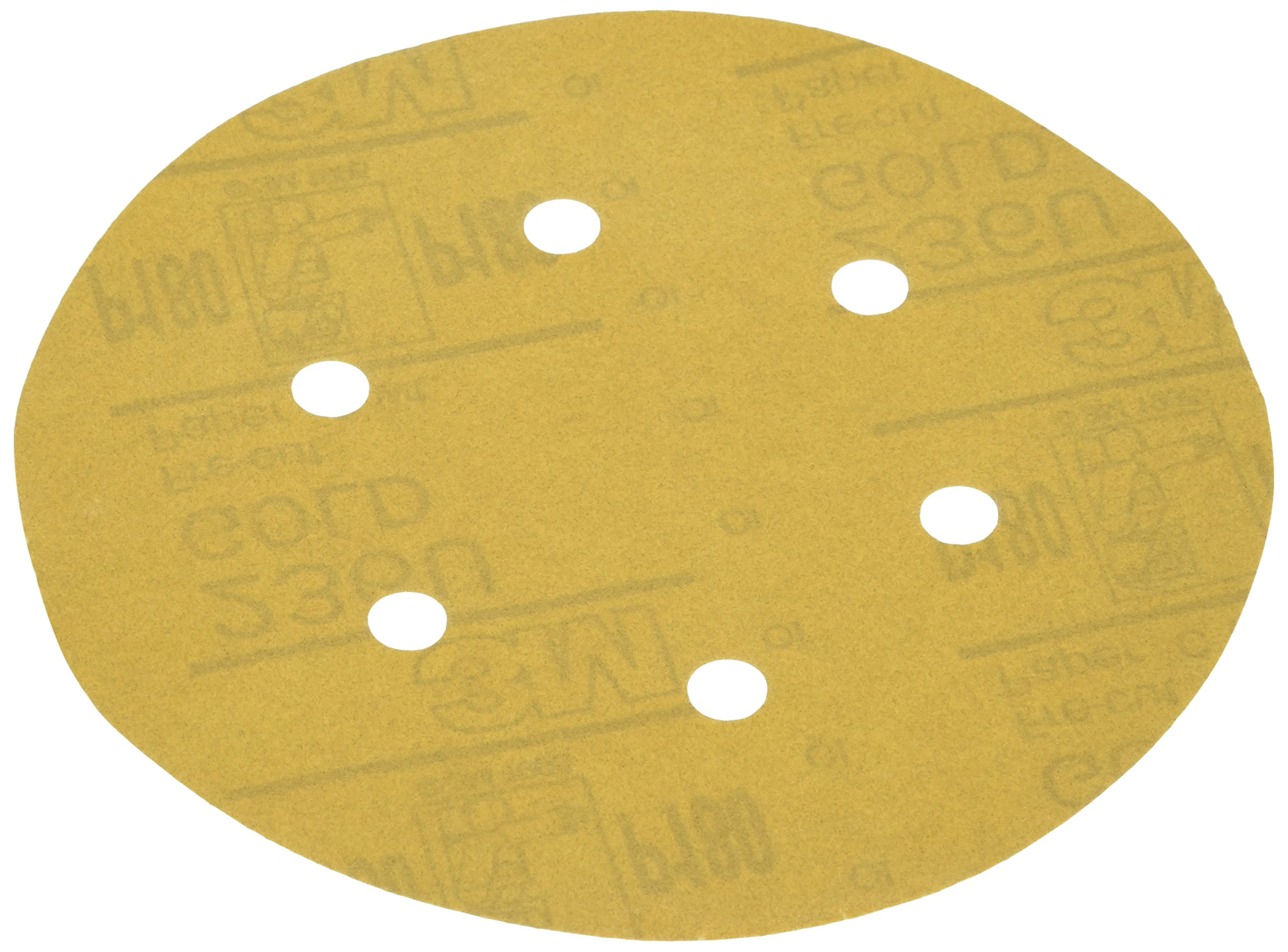 3M 01639 Stikit Gold 6'' P180A Grit Dust-Free Disc Roll by 3M (Image #1)
