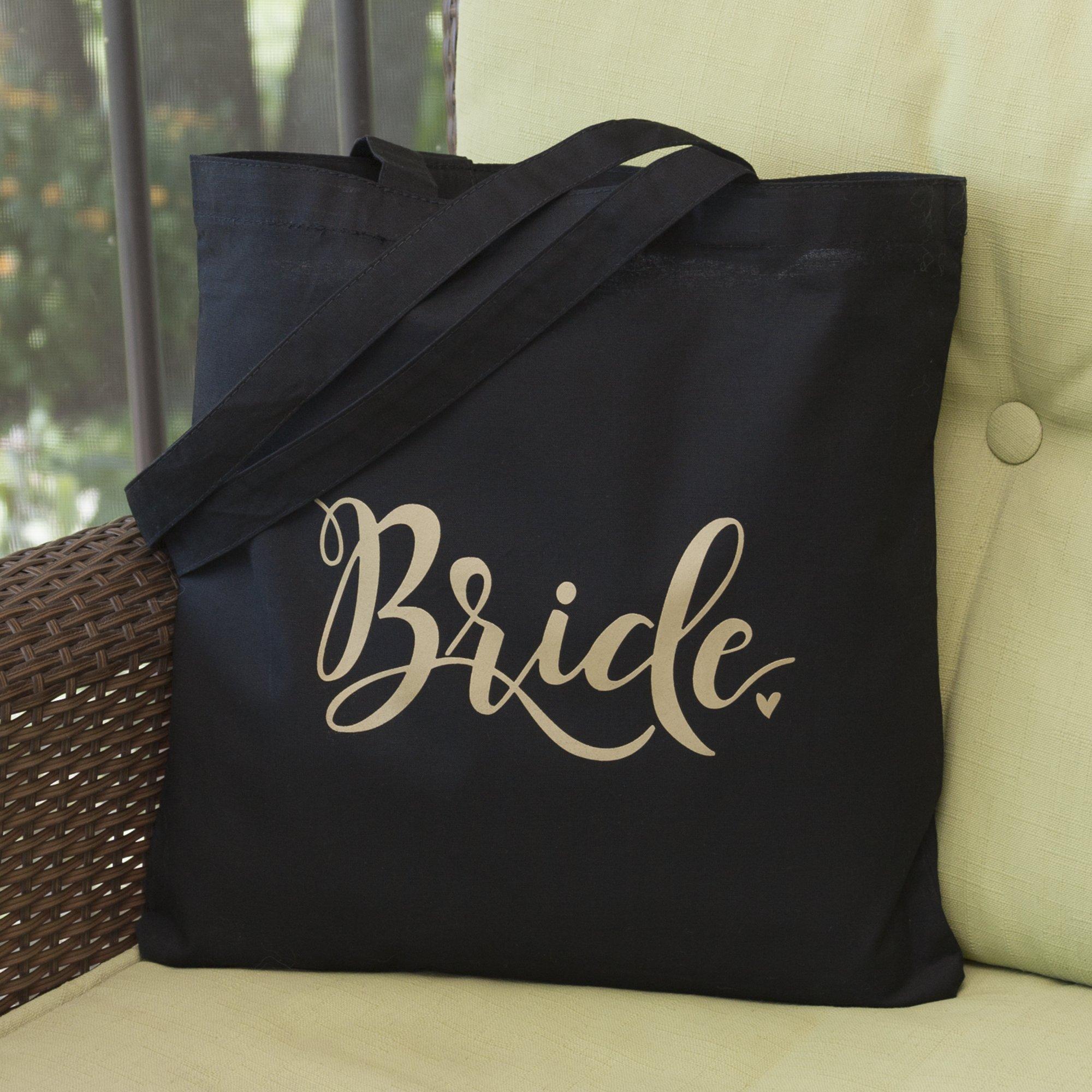 Hortense B. Hewitt 55508 Bride Tote Bag, Black