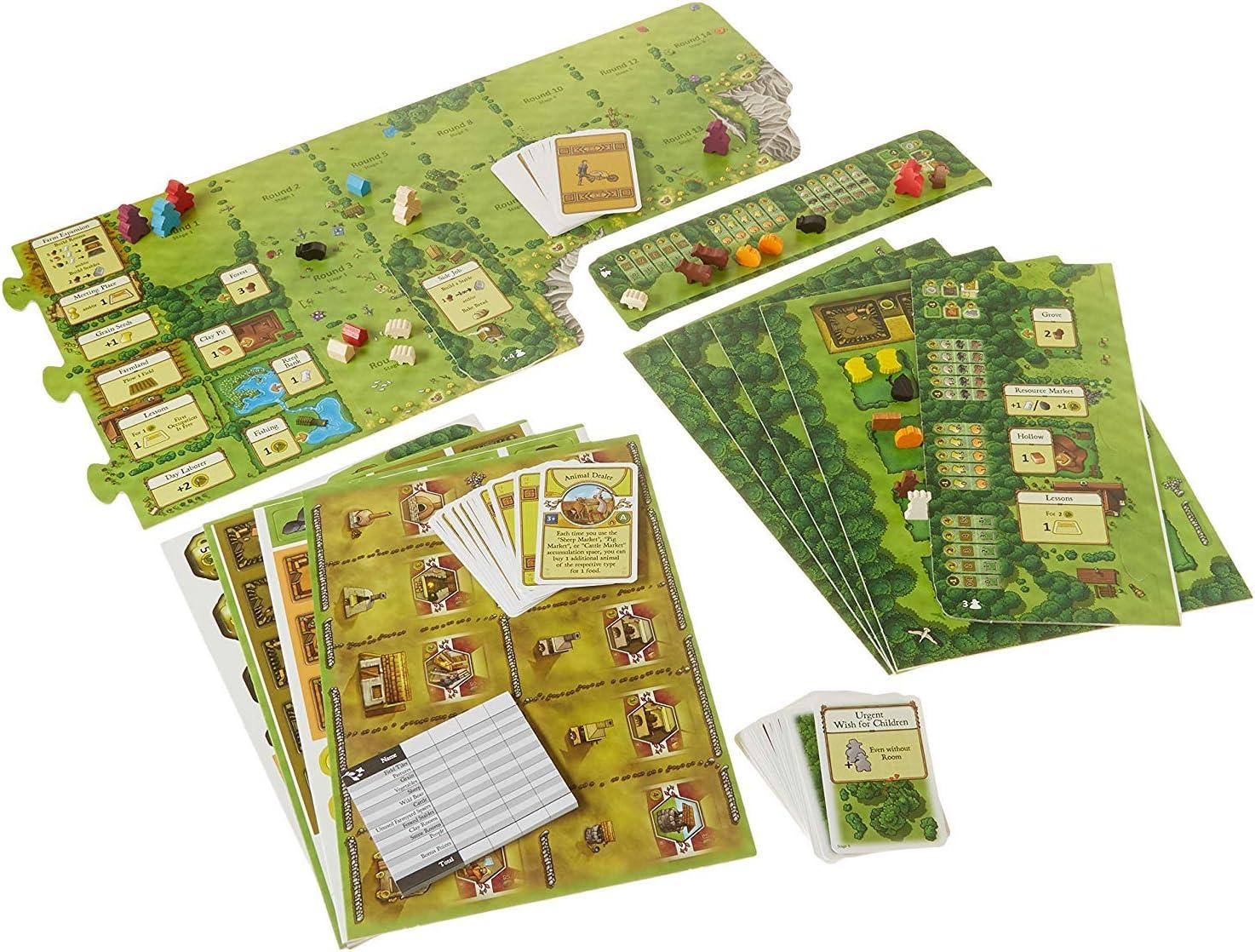 Agricola Edición revisada + Agricola Family Edition. Juego Bundle!: Amazon.es: Juguetes y juegos