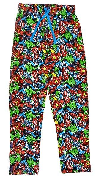 Marvel Heroes - Pantalón de Pijama - para Hombre X-Large
