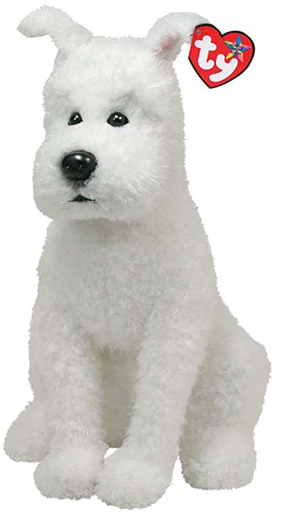 Ty Beanie Buddies Snowy The Dog