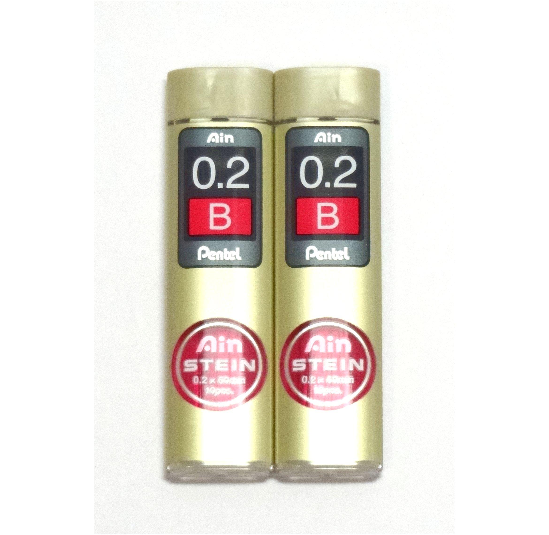 Pentel Ain Stein 20 Minas (2 Tubos) 0.2mm B