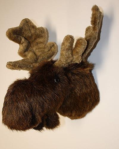 Fairgame Wildlife Plush Moose Head Mitch Large Trophy Mount