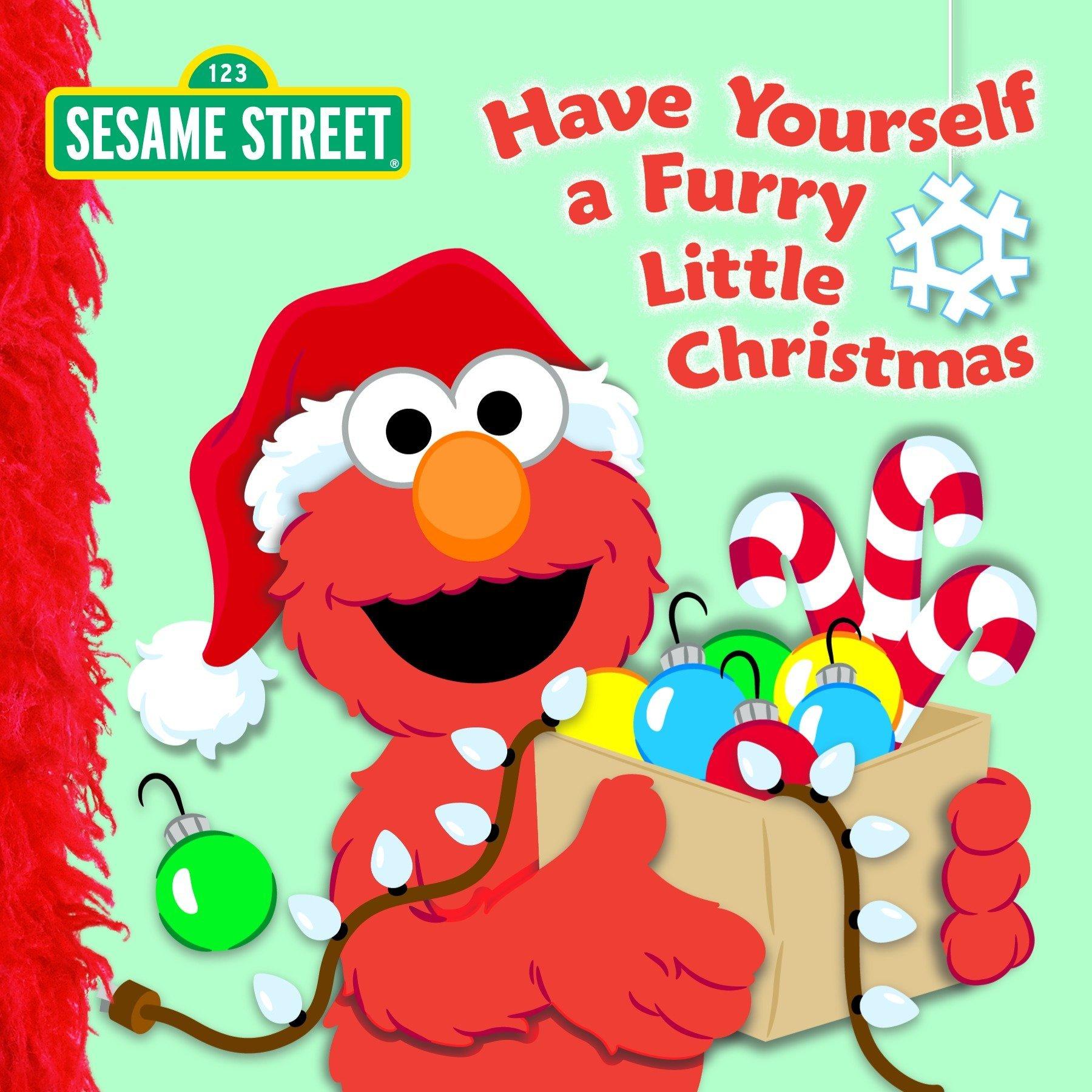have yourself a furry little christmas sesame street naomi kleinberg louis womble 9780375841330 amazoncom books - Christmas Furry