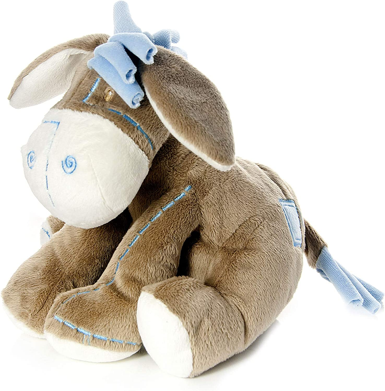 Mousehouse Gifts Bebé Infante Peluche Animal de Felpa Juguete Azul Burro asno para recién Nacido bebé niño