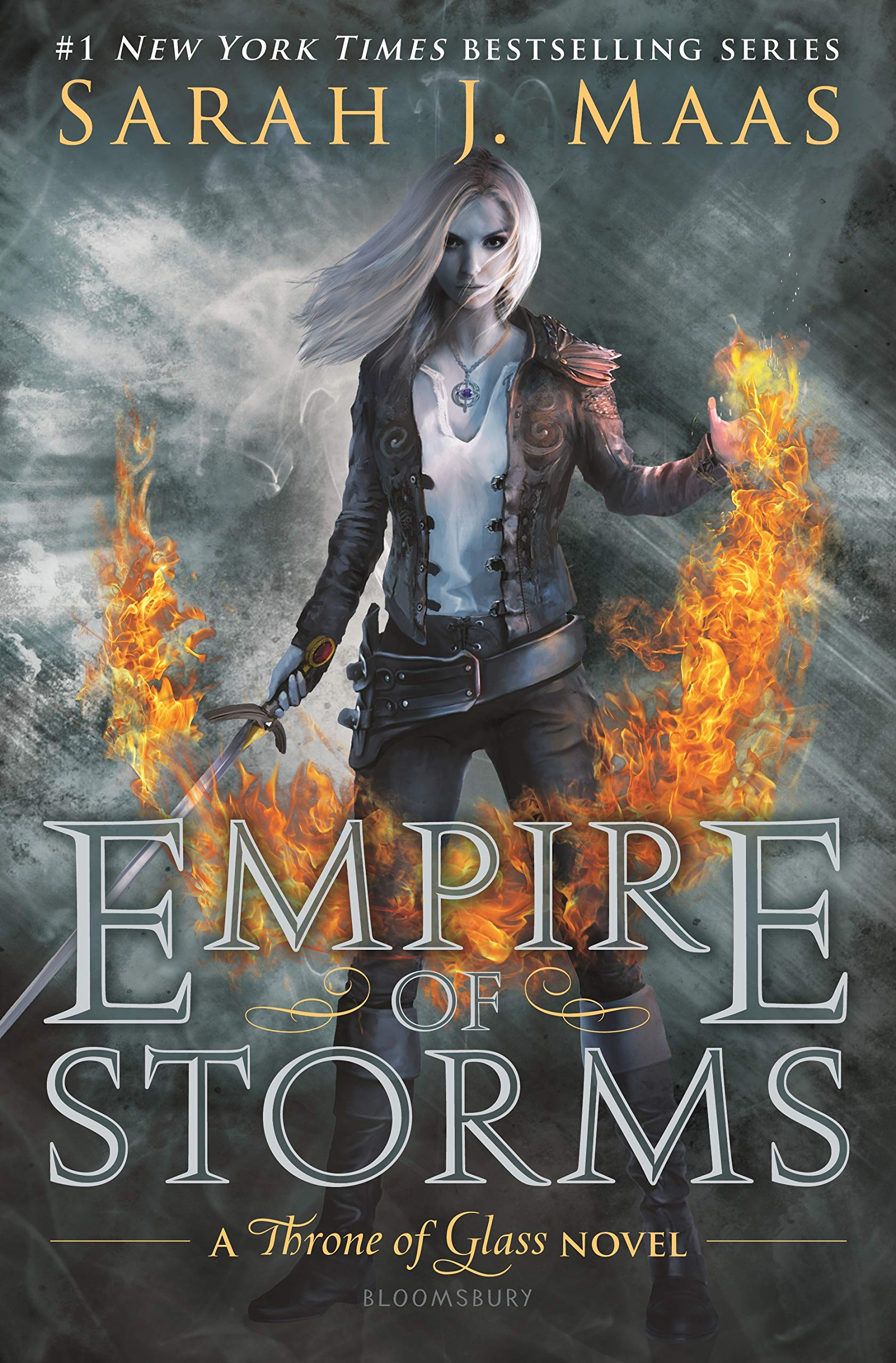 Amazon.com: Empire of Storms (Throne of Glass) (0642688056803 ...