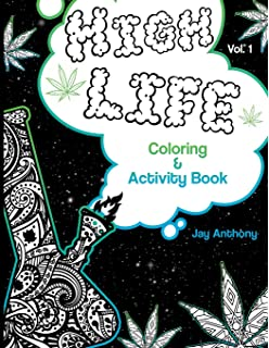 Amazon Com Chronic A Uniquely Humorous Cynical Coloring Book