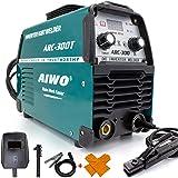 AIWO MMA Welder ARC Welding Machine, Single Voltage 160A.220V Welder, Arc Welder with Three Plates,Stick welder with LED Digital Display, Anti Overheat and Overcurrent (Blue)