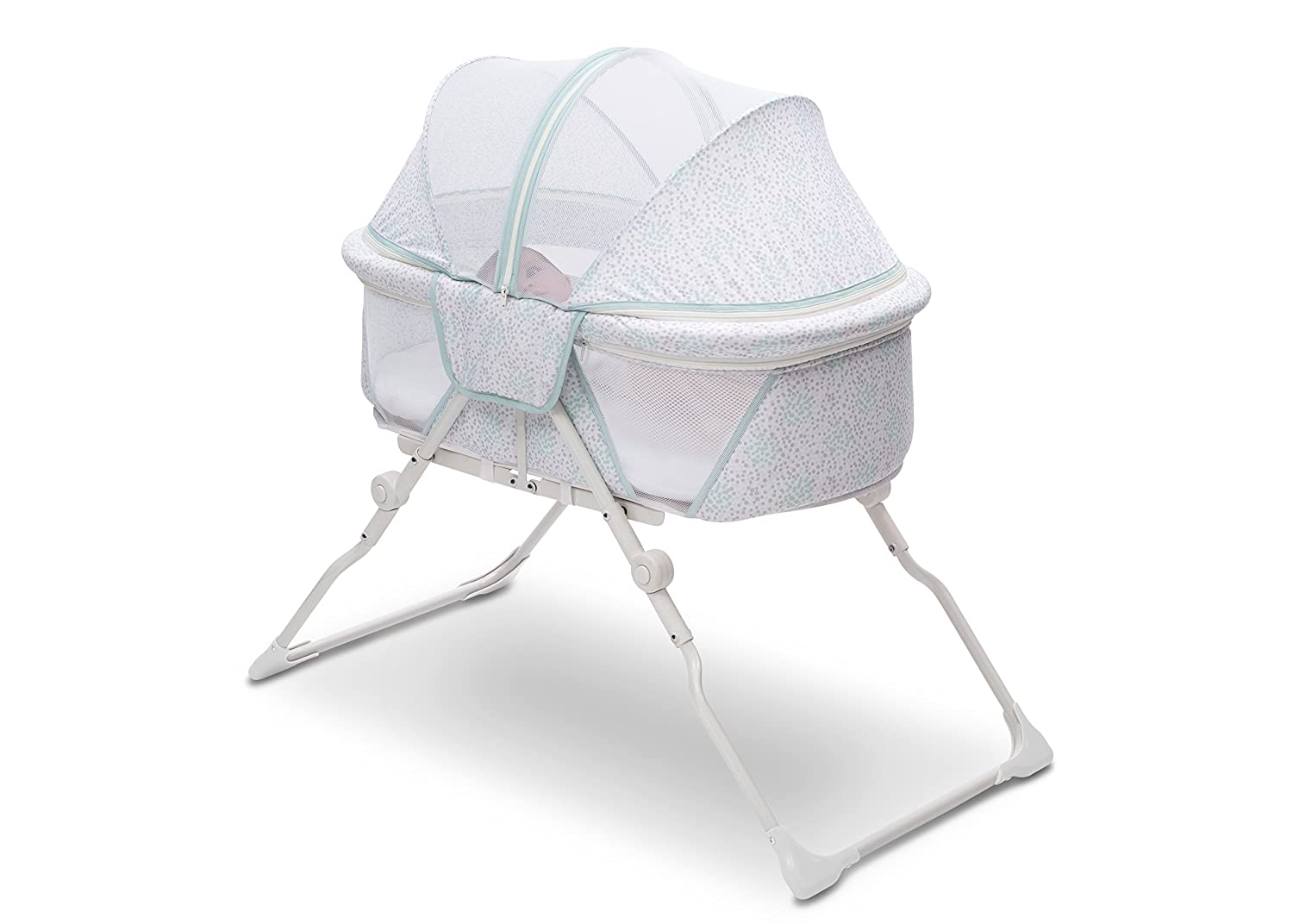 Delta Children EZ Fold Ultra Compact Travel Bassinet Inner Circle