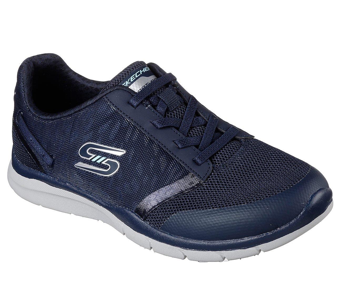 Skechers Gratis Cloud up to Speed Womens Slip On Sneakers B079RVP1QS 9.5 B(M) US Navy