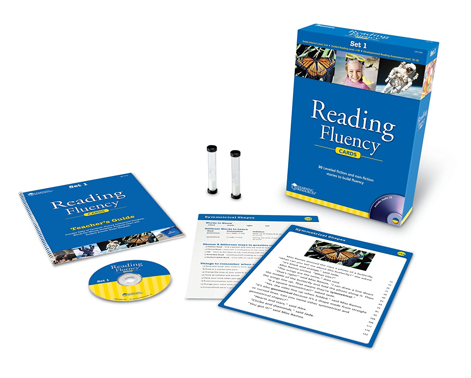 reading fluency cards kit 2nd grade activities