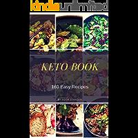 Keto  Book: 160 Easy Recipes (English Edition)