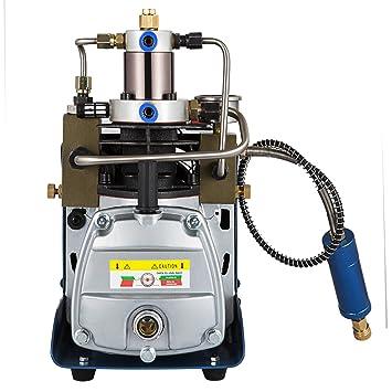 mophorn ajustable escobillas de bomba de aire de alta presión 220 V 30 mpa Compresor De