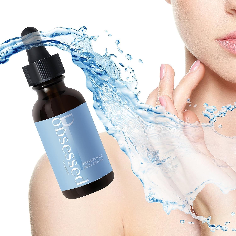 D.obsessed Serum Facial Ácido Hialurónico y Vitamina C + Vitamina E - Tratamiento Testado Clínicamente que ayuda a la Hidratación y Rejuvenecimiento ...