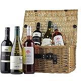 Value Mixed Selection 6 bottle Wine Hamper Gift