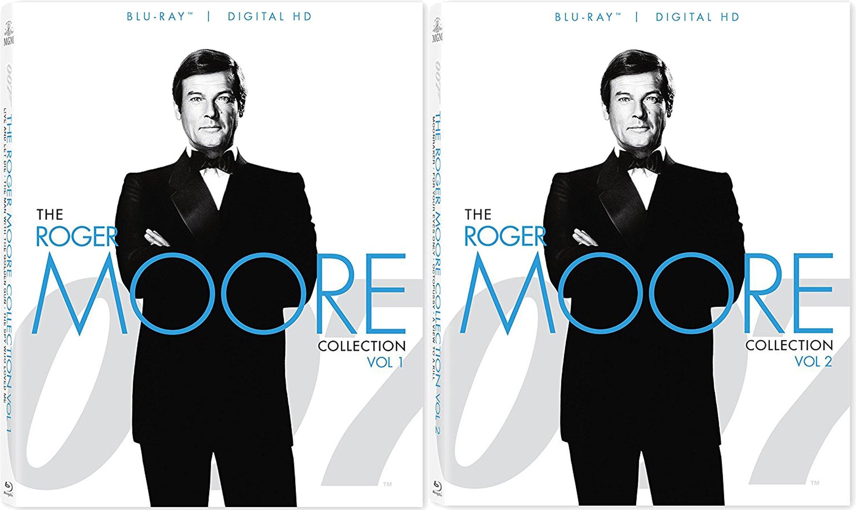 007 James Bond Roger Moore Blu-Ray Collection Volumes 1 & 2 Bundle