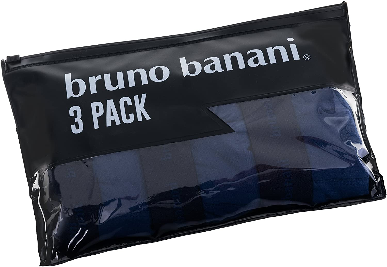 bruno banani Herren Retro Boxershorts Lusty 3er Pack