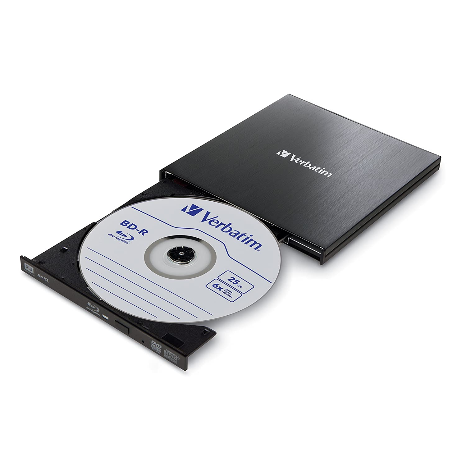 Amazon.com: Verbatim External Slimline Blu-Ray Writer ...