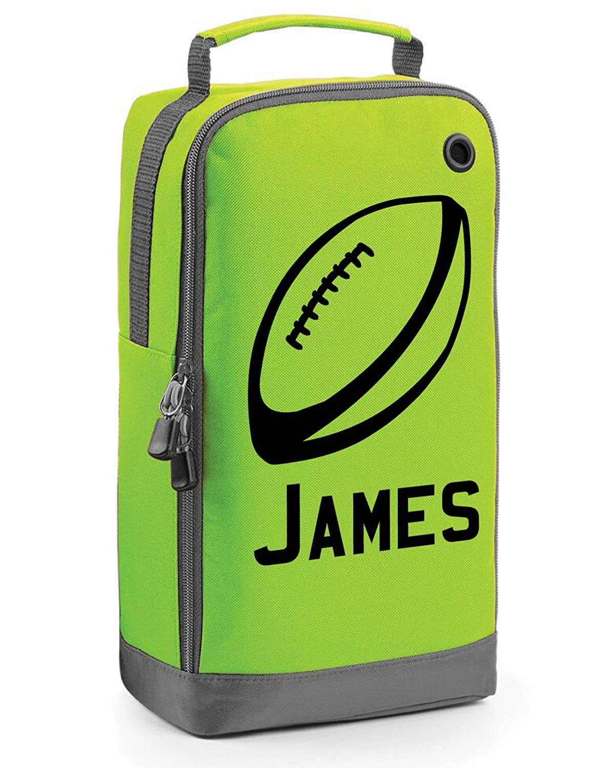 beyondsome Children's Personalised Rugby Ball Boot Bag