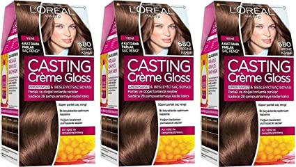 Loreal Paris 680 Choco Mocca permanente tinte de pelo color ...