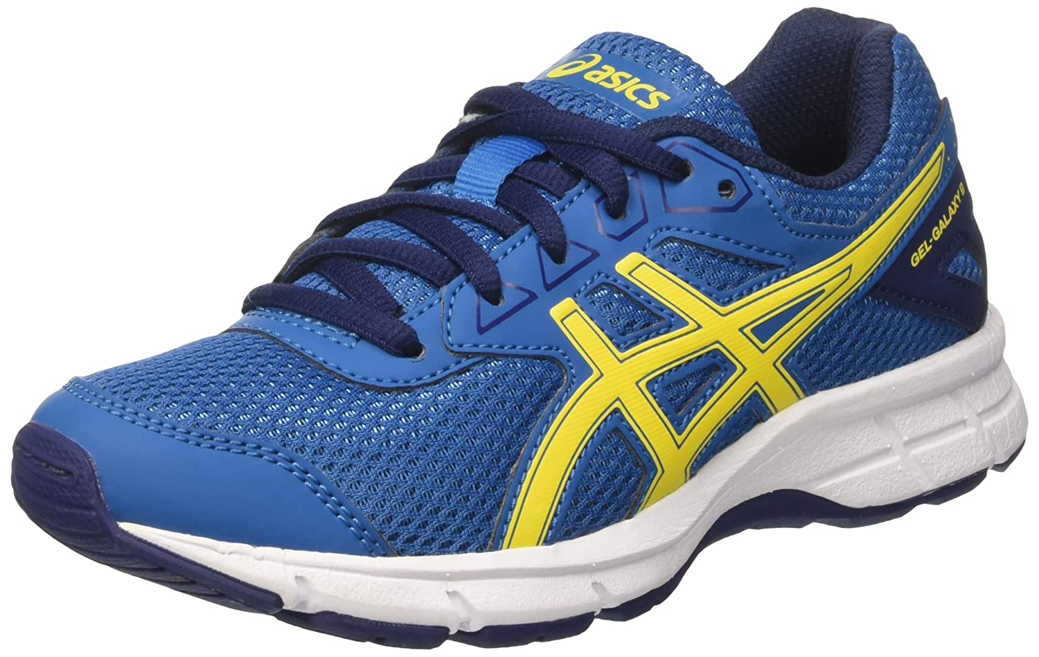 Asics Gel-Galaxy 9 GS, Zapatillas de Running para Niños, (Thunder Blue/Vibrant Yellow/In), 40 EU: Amazon.es: Zapatos y complementos