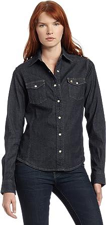 Carhartt - Camisa vaquera para mujer