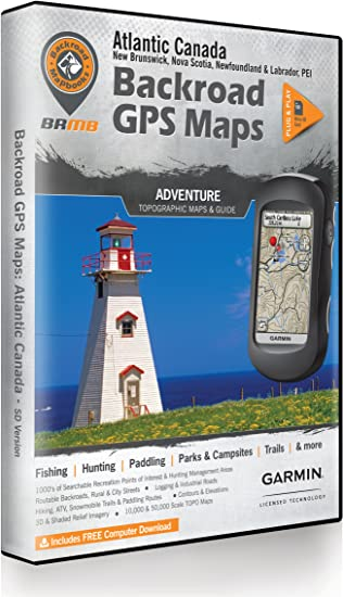 Zumo 550 Map Update Wanting To Download Canada Instead Of United States Amazon.com: Atlantic Canada Backroad GPS Maps