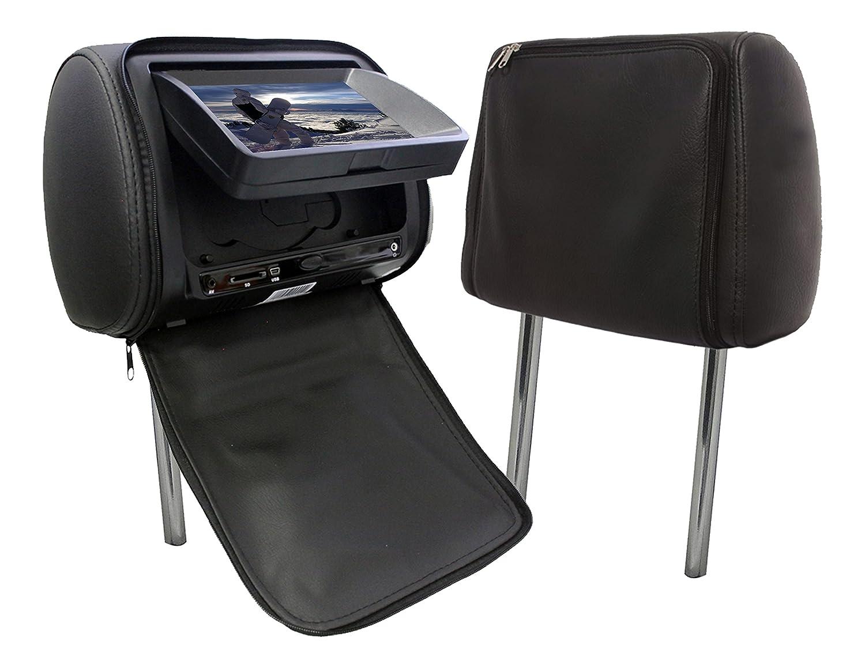 Absolute USA DPH790PKGBK Headrest Monitor /& Multimedia Player TFT//LCD Monitor PAL//NTSC Video System 7 Black 7 Absolute USA Inc.