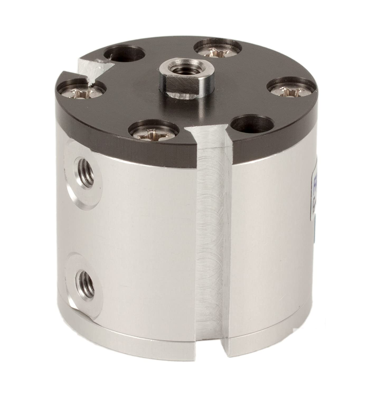 Fabco-Air G-7-X-E Original Pancake Cylinder, Double Acting, Maximum Pressure of 250 PSI, Switch Ready with Magnet, 3/4' Bore Diameter x 3/4' Stroke 3/4 Bore Diameter x 3/4 Stroke FAB   G-7-X-E