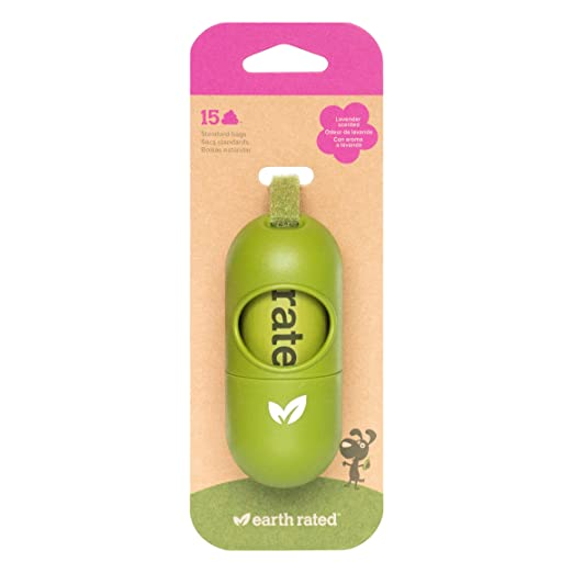 10 opinioni per Earth Rated Leash Dispenser for Dog Waste Bags, Includes 15 Biodegradable