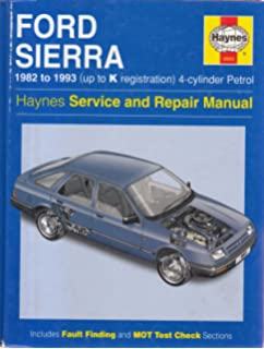 Ford Sierra Owners Workshop Manual (Service & repair manuals)