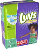 Luvs Ultra Leakguards Size 6 Diapers - 21 CT