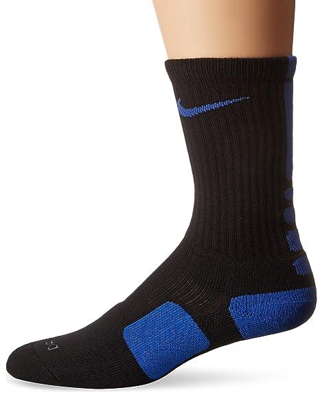 eb49b1e38 Amazon.com: Nike Elite Basketball Crew Socks (XL (Mens Shoe 12-15), BLACK/GAME  ROYAL): Sports & Outdoors
