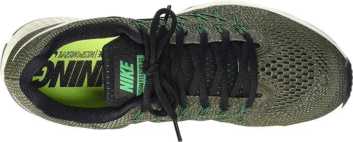 Nike 749340 303 Chaussure De Course, VertGreyBlanc